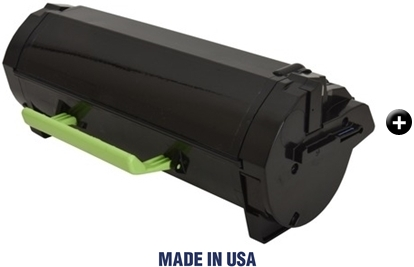 2PK Lexmark 51B1000 BLACK TONER to Lexmark MS317 417 517 617 MX 317 417 517 617