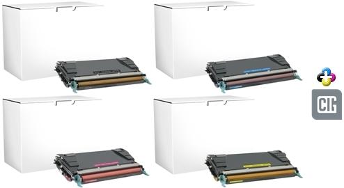 Genuine Lexmark C736H4MG High Yield Magenta Toner Cartridge NEW SEALED BOX