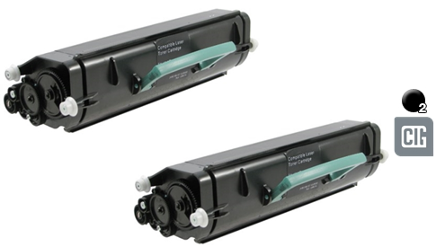 CIG Remanufactured High Yield MICR Toner Cartridge for Lexmark E360//E460//E462