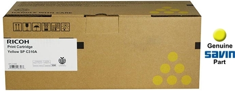 Genuine Ricoh 406346 SP-C310A Magenta Toner Cartridge 2500 Page for SP C242SF