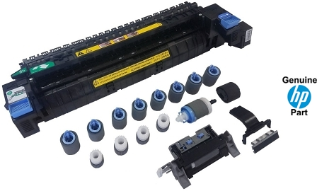 HP color laserjet 500, prints incorrect colors. Changed ...