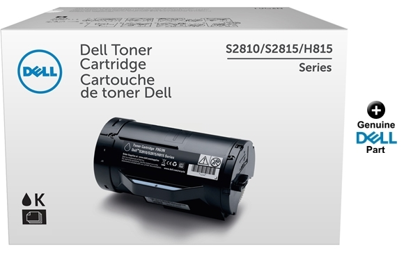 6,000 Pages Black Inksters Compatible Toner Cartidge Replacement for Dell S2810DN S2815DN H815DW 593-BBMF Mono Toner