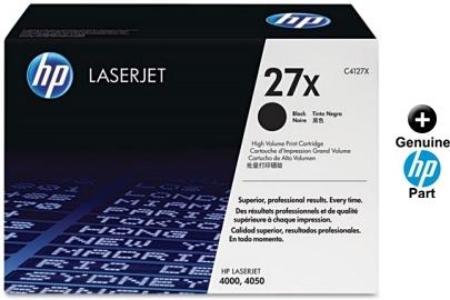 4050 c4127x 2  pack HP C4127D 27X  Black Toner Cartridge 4000