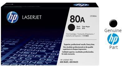 3 PK CF280X 80X High Yield Black Toner Cartridge For HP LaserJet Pro 400 M401dn
