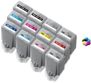 Photo Black, 1 Pack Ninjatoner Re-Manufactured Ink Cartridge Replacement for Canon PFI-1000 PBK Used in ImagePROGRAF PRO 1000 Printers