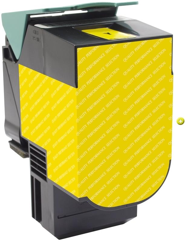 2000 Page-Yield Lexmark C540H2YG C540H2YG High-Yield Toner Yellow