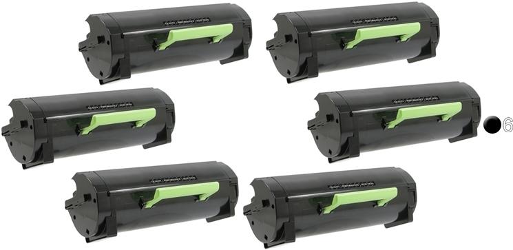 1 Pack 60F1000 Toner Cartridge for Lexmark MX310dn MX410de MX510de MX511dte